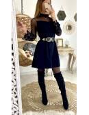"Ma jolie robe ample ""black & voilage"""