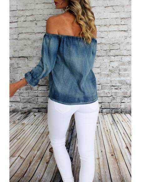 Ma jolie blouse en jeans