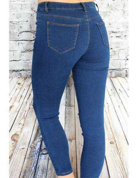 Jeans brut skinny 7/8ème