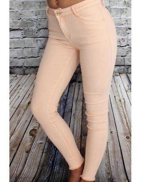 "Pantalon medium ""Rose poudré"""