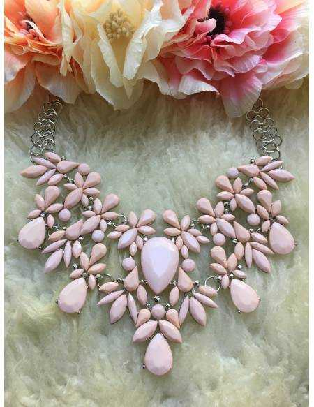 "Mon collier ""Pink chic"""