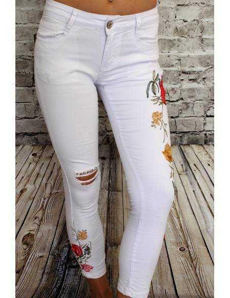 Mon jeans blanc