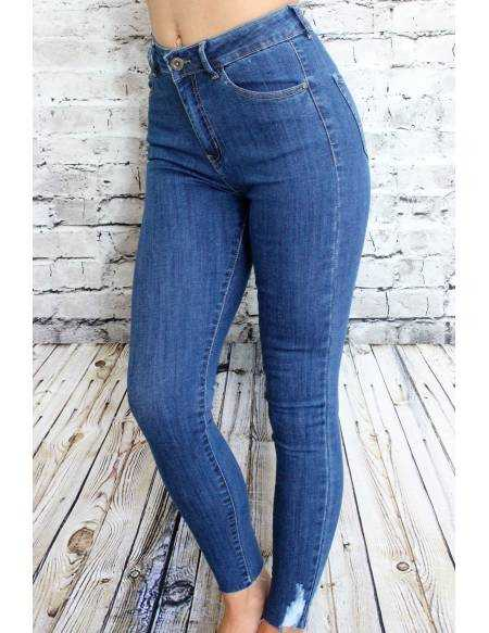 """Mon jeans foncé """"taille haute"""""""