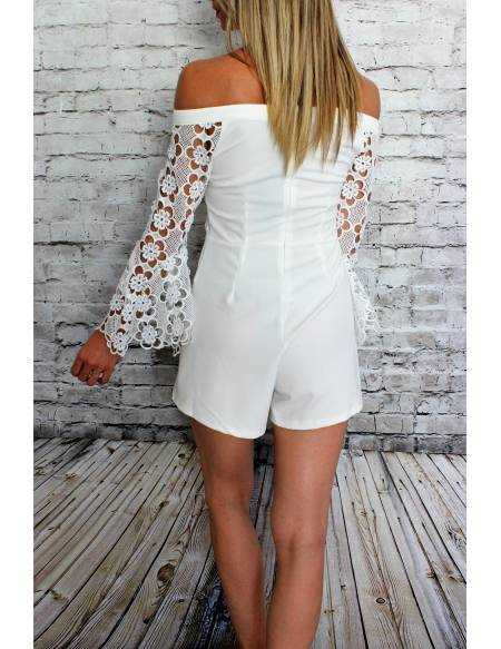 Ma combi blanche bustier