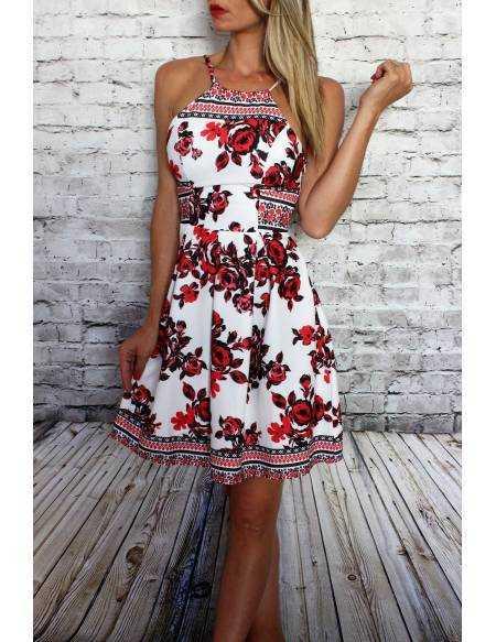 "Ma petite robe imprimé ""Red"""