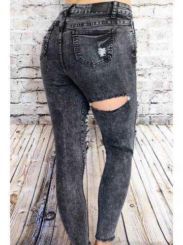 Mon jeans gris