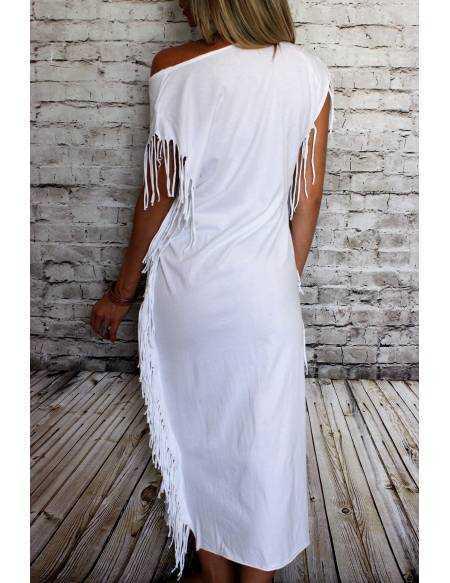 Ma robe longue blanche