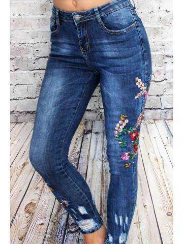 Mon jeans bleu foncé